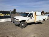 1997 Dodge Ram 3500 4x4 Service Truck