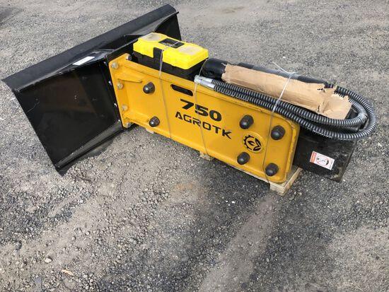 2021 Agrotk 750 Hydraulic Breaker