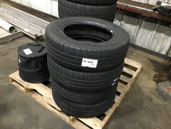Good Year Eagle P205/70R16 Tires, Qty4