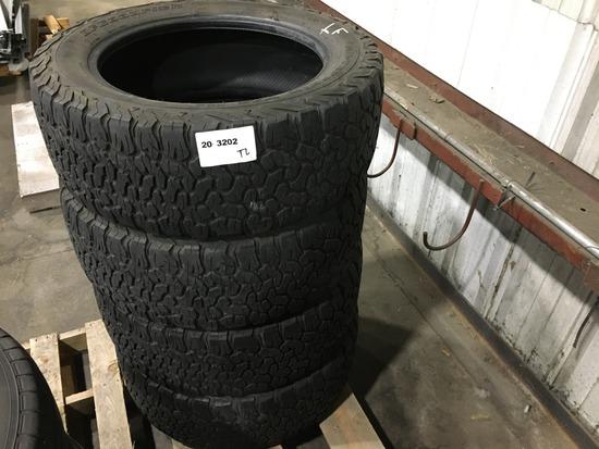 BF Goodrich LT275/55R20 Tires, Qty4
