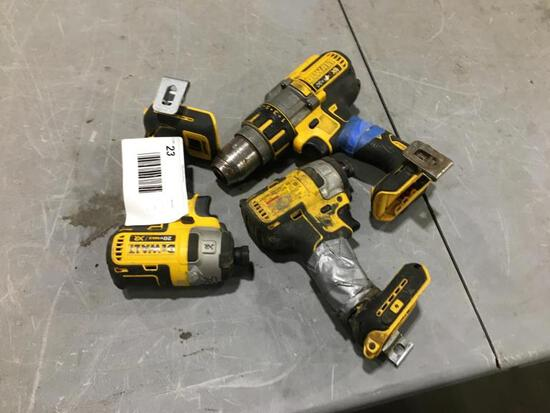 Dewalt Drill & Impact Gun