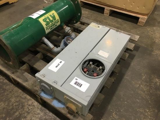 Electric Meter/Braker Box