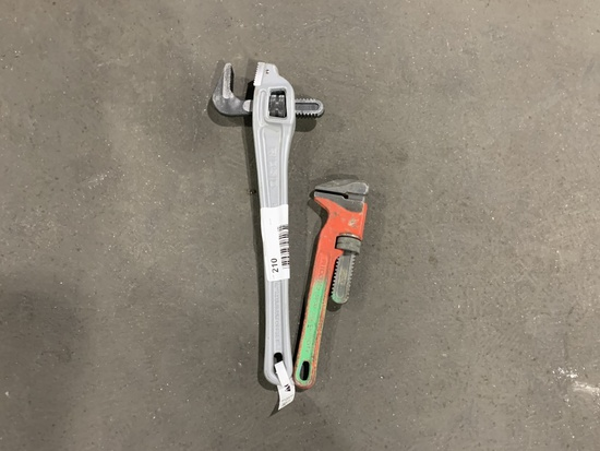 Ridgid Specialty Pipe Wrenches, Qty. 2
