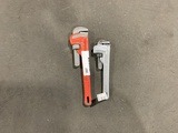 Ridgid Pipe Wrenches, Qty. 2