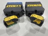 DeWalt DW083CG Laser Pointers, Qty 2
