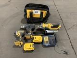DeWalt Cordless Tool Kit
