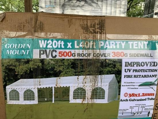 2020 Golden Mount 20*40 Party Tent