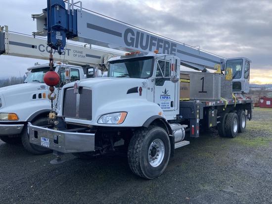 2015 Manitex 30112S T/A Crane Truck