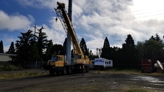 1976 Grove 8435G 35-Ton Truck Crane