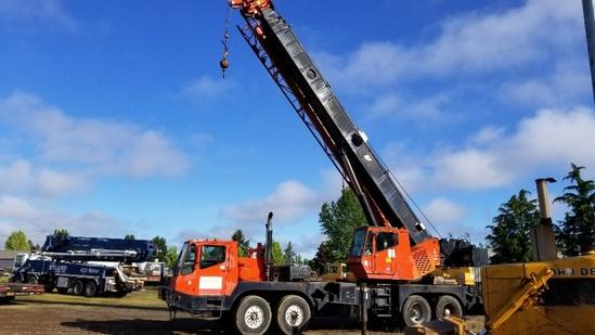 1990 Grove 8450G 50-Ton Truck Crane