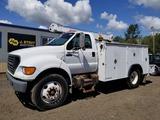 2000 Ford F650 Utility Truck