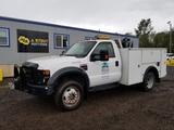 2008 Ford F550 XL SD 4x4 Utility Truck