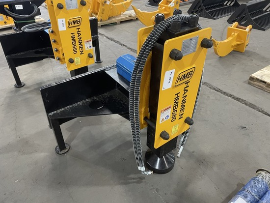 2021 HMB680 Hydraulic Post Driver