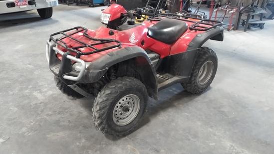 2006 Honda TRX500FE 4x4 ATV
