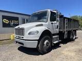 2010 Freightliner Business M2 Flatbed Dump Truck