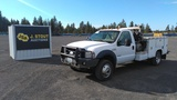 2006 Ford F550 4x4 Utility Truck