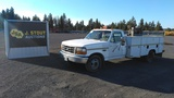 1997 Ford F350 XL Utility Truck