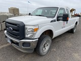 2013 Ford F250 Extra Cab 4x4 Pickup
