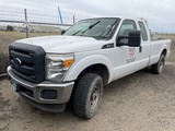 2013 Ford F250 SD 4x4 Extra Cab Pickup