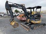 2009 John Deere 35D Mini Hydraulic Excavator