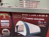 2021 Golden Mountain S203012 Storage Shelter