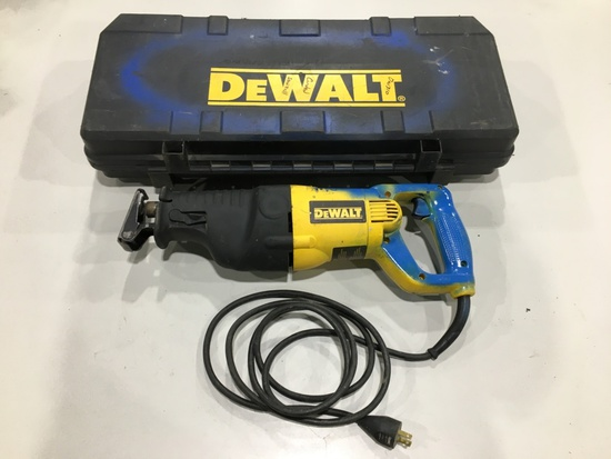 DeWalt DW310 VS Reciprocating Saw