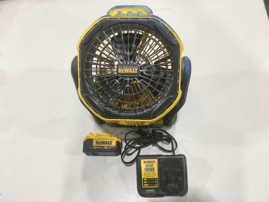 DeWalt DCE511 20V Jobsite Fan
