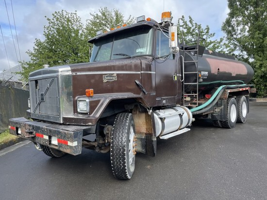 1998 Volvo Autocar T/A Water Truck