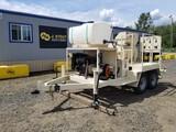 2018 Blastcrete RS180 Towable Concrete Mixer-Pump