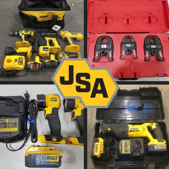Contractor Tool Timed Online Auction