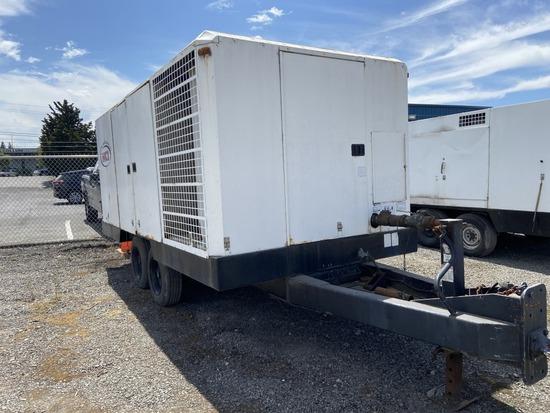 Ingersoll Rand 1300WCU Towable Air Compressor