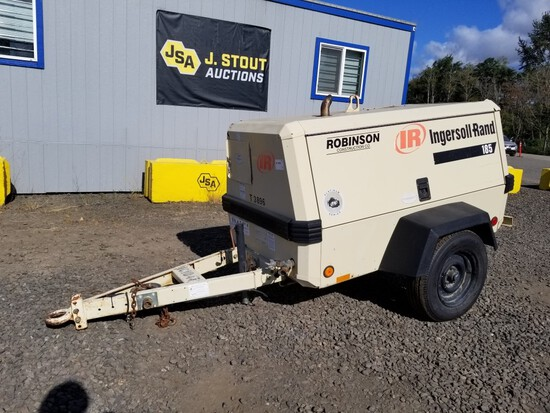 2001 Ingersoll-Rand 185 Towable Air Compressor