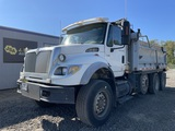 2007 International 7600 Tri-Axle Dump Truck