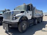 2009 International 7600 Tri-Axle Dump Truck