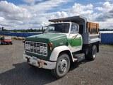 1967 GMC 5500 S/A Dump Truck