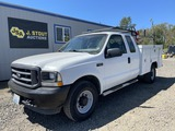2003 Ford F250 Extra Cab Utility Truck