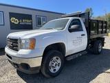 2011 GMC Sierra Flatbed Dump Truck