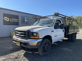 1999 Ford F450 XL SD Flatbed Truck