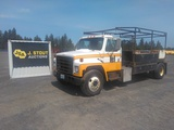 1984 International S1700 Flatbed Truck