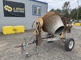 Stone 95CM Towable Cement Mixer