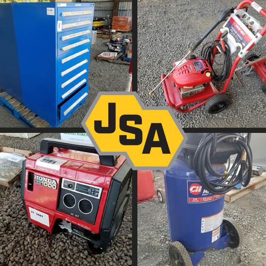 Industrial Machine & Tool Timed Online Auction