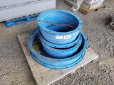 Pipe Couplings, Qty. 3