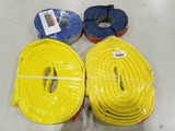 Liftall Polyester Tow Straps, Qty 4