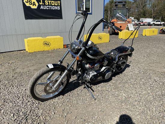 2003 Harley Davidson Soft Tail Motorcycle