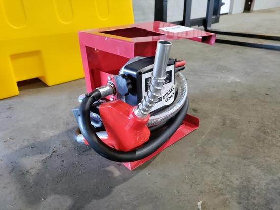 2021 12V Diesel Fuel Pump w/Flow Meter
