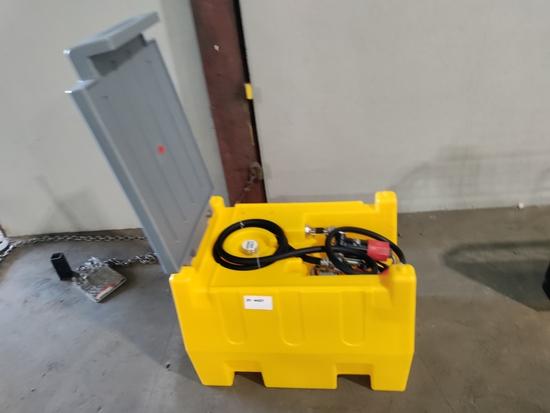 2021 Poly Diesel Tank w/ 12V Pump