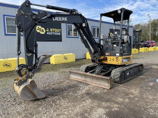 John Deere 35G Mini Hydraulic Excavator