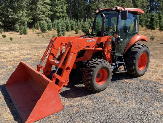 2019 Kubota M7060D 4x4 Ag Tractor