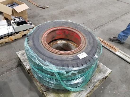Tires w/ Rims, Qty. 2