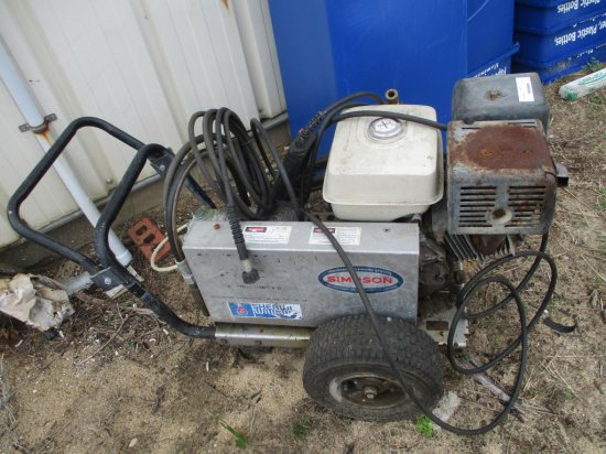 Simpson Gas Pressure Washer SW3000 GHS.